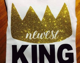 Newest King - Baby shirt