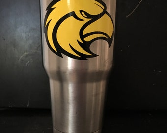 USM University of Southern Mississippi Hattiesburg Golden Eagles 30 oz Ozark Trail tumbler NEW Game Ready