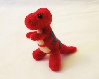 DIY Needle Felting Kit - T.Rex Tyrannosaurus