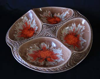 Vintage Mid-Century Hors D'oeuvres Platter