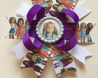 American Girl Hairbows- American Girl Hairbow- American Girl- American Girl Bows- American Girl Bow- American Girl Accessories- Dolly & Me-