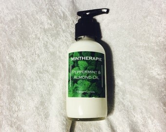 Peppermint and Almond Oil Body lotion