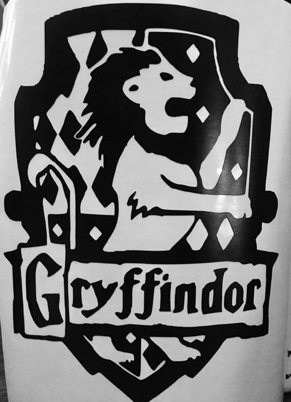 Gryffindor decal harry potter decal hogwarts decal - Hogwarts decal ...