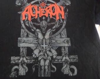 Classic Acheron - Compendium Diablerie -  T shirt -  Marduk,Beherit,Bathory,Mayhem,Venom,Absu.