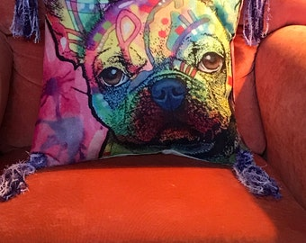 Funky little Chihuahua pillow