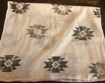 Gauze baby swaddle blanket