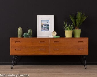 Denmark, 50's, vintage, 60s chest of drawers, sideboard (701035)