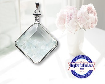 CLEARANCE Crystal PENDANT, Reiki Natural Aquamarine +99cent SHIPPING & Discounts*