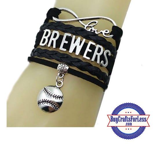 MILWAUKEE Leather Bracelet-U Choose CHARM +Discounts & FREE Shipping*