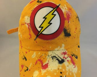 Flash 3 patch hat