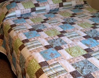 Full Size Disappearing Nine Patch Full Size Quilt