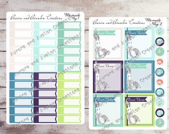 Mermaid Collection Single Sheets