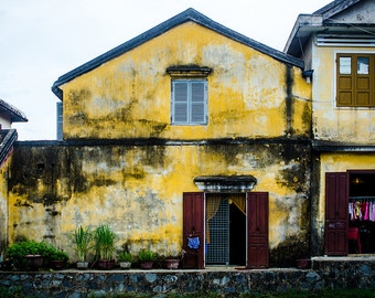 Yellow House in Can Tho, Vietnam