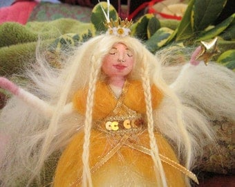 Wool Fairy Princess Doll