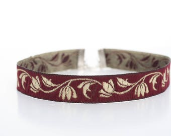 Afghan Choker Red