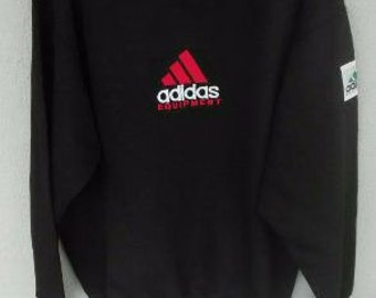 """Vintage Rare Adidas big logo n spell out pit 23.5"""" inches hip hop style casual hooligan"""