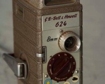 G.B. Bell & Howell 624 8mm Cine Camera