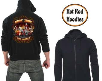 Zipper hoodie Body shop
