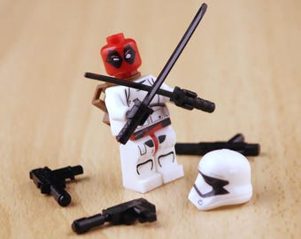 deadpool / star wars / lego compatible custom