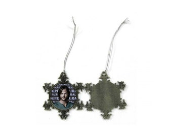 Supernatural Jared Padalecki Sam Winchester Christmas Ornament