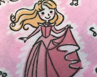 Disney Princess Fabric Made in Japan