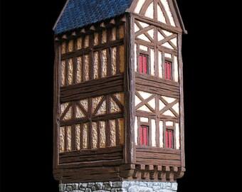 House medieval n1 (ech 30mm, resin kit)