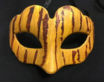 Passion's Fire masquerade mask