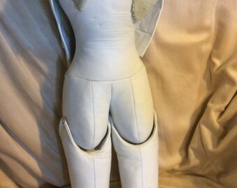 "New leather Replacement 24"" body for German Bisque Doll"
