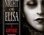 Gothic Book The Night of Elisa - SIGNED paperback + Norwegian chocolate