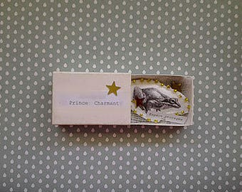 Prince charming Pocket - poetic pin