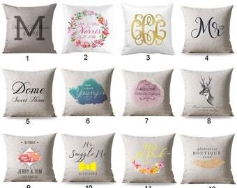 Decorative Pillow cover, Custom Decorative Pillow, Pillow Cover, Natural Linen Pillow Cover, Linen Throw Pillow, Living Room Decor