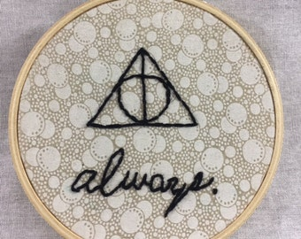 Always Embroidery Hoop