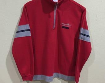 Rare!!! Vintage Benetton Sweatshirt United Colors Of Benetton Formula 1 Racing Team Italy Embroidery