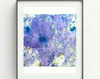 Marbling blu, purple drawing/ Marbling paper/marbling cardboard for your home and office
