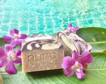 Riceberry Handmade Soap, Coconut milk soap, vegan soap, Palm oil free