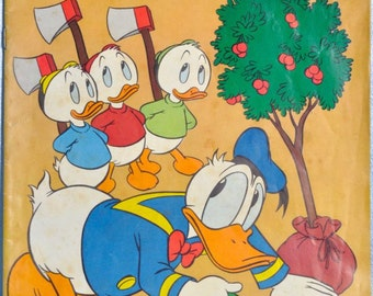 Walt Disney's Comics-Donald Duck-Vol 16 #7 1956 Very Fine
