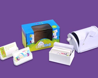 Letz Talk - CareMail Mailbox - Ages 5-8 - Conversation Starter - Confidence Builder - Kids - Communication