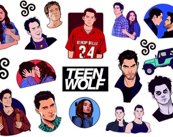 Teen Wolf sticky love and dave story, decals, Vinyl tumblr, tumblr stickers, stickers on laptop, art sticker, waterproof sticker