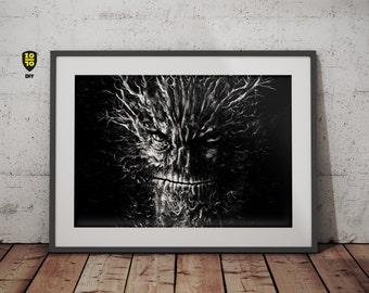 A Monster Calls tribute digital illustration by Alexander Fechner