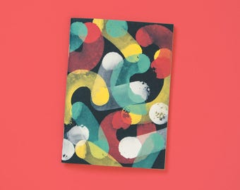 A6 note book blank