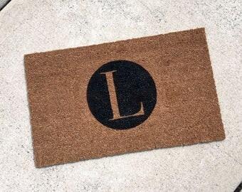 Monogrammed Doormat - Personalized Doormat - Custom Doormat - Custom Door Mat - Personalized Welcome Mat - Custom Welcome Mat 022