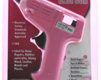 PaperGlitz Hot Glue Gun in Pink 10 WATT (Includes 2 glue sticks)