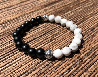 Yin & Yang - Beaded Bracelet