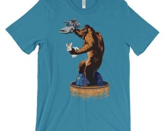 Back to the Kong - Back to the Future King Kong Mashup T-Shirt