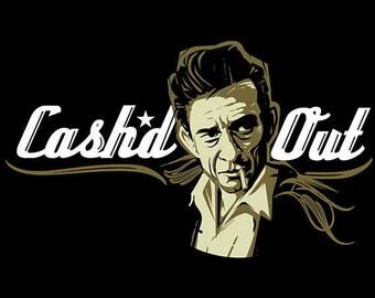 Johnny Cash, Johnny Cash Poster, Johnny Cash Art, Johnny Cash Print, Johnny Cash Wall Art, Man in Black 8x10, 11x14, 16x20 (JS00898)