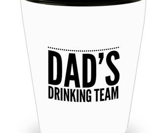 Funny Shot Glass - Happy Father's Day - Father's Day Shot Glass - Custom Shot Glass - Gift For Dad - Father Gift