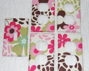 Cocalo taffy-switch plate set of five