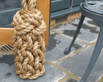 Lighthouse Tall Rope Door Stop