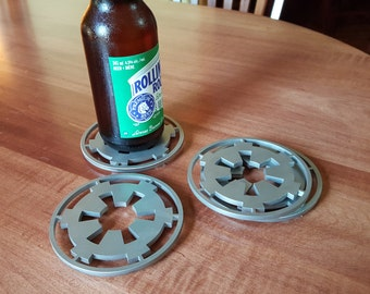 Stainless Steel Imperial Cog Coasters
