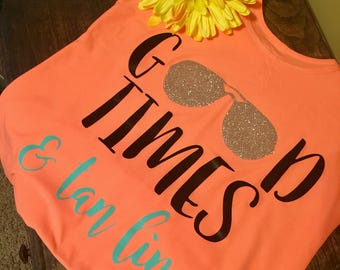 Good Times and Tan Lines • Womens Tank